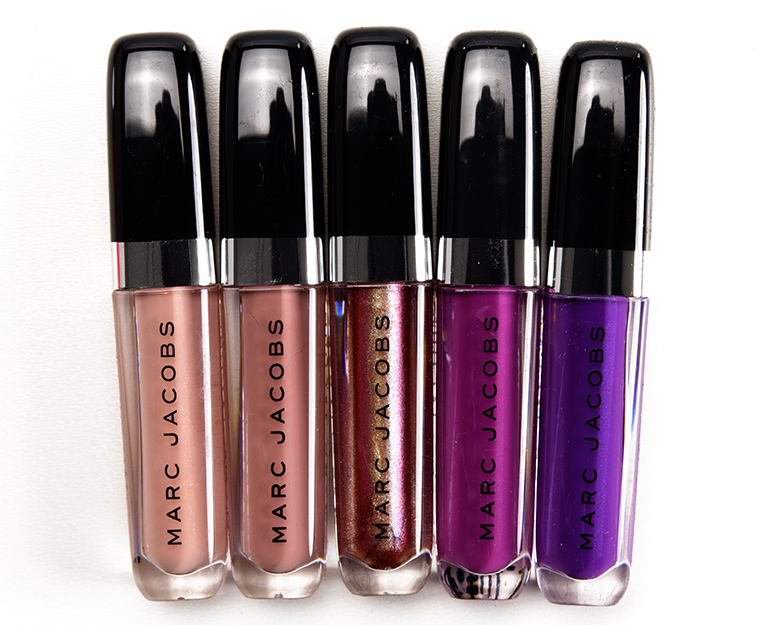 4a51bd4c7a1b1 Marc Jacobs Beauty Snake Charmer Enamored Hi-Shine Gloss Lip Lacquer Set  Review