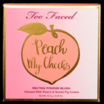 Too Faced Ginger Peach Peach My Cheeks Melting Powder Blush