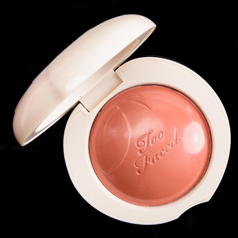 Too Faced Pinch My Peach Peach My Cheeks Melting Powder Blush
