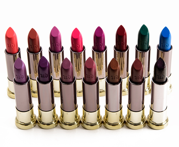 Urban Decay Vice Lipsticks
