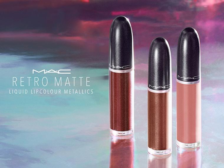 MAC Retro Matte Liquid Lipcolour Metallics