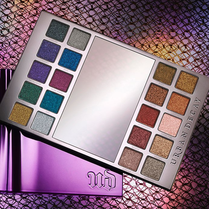 Urban Decay Heavy Metals Eyeshadow Palette for Holiday 2017