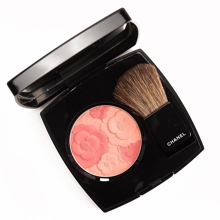 Chanel Blush Camelia Peche Joues Contraste Blush