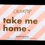 ColourPop Take Me Home 6-Pan Pressed Powder Shadow Palette