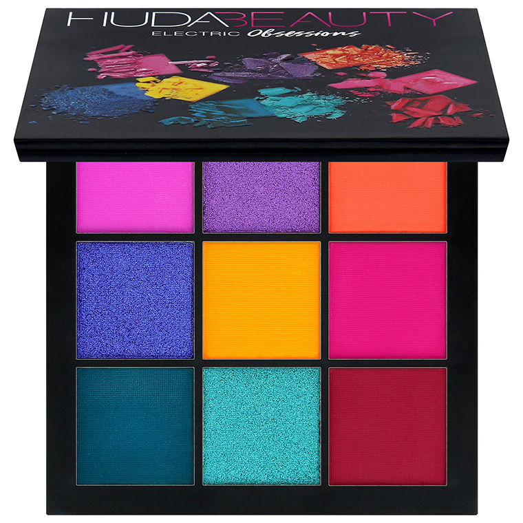 Huda Beauty Obsessions Eyeshadow Palettes for Holiday 2017