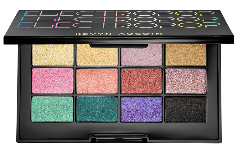 Kevyn Aucoin Electropop Pro Eyeshadow Palette for Holiday 2017