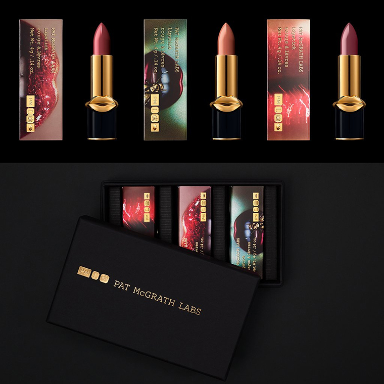Pat McGrath LuxeTrance Lipstick Sets for Holiday 2017