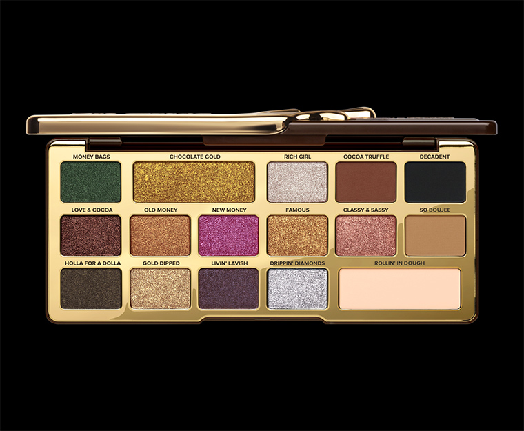 Too Faced Chocolate Gold Collection for Holiday 2017