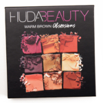 Huda Beauty Warm Browns Obsessions Eyeshadow Palette