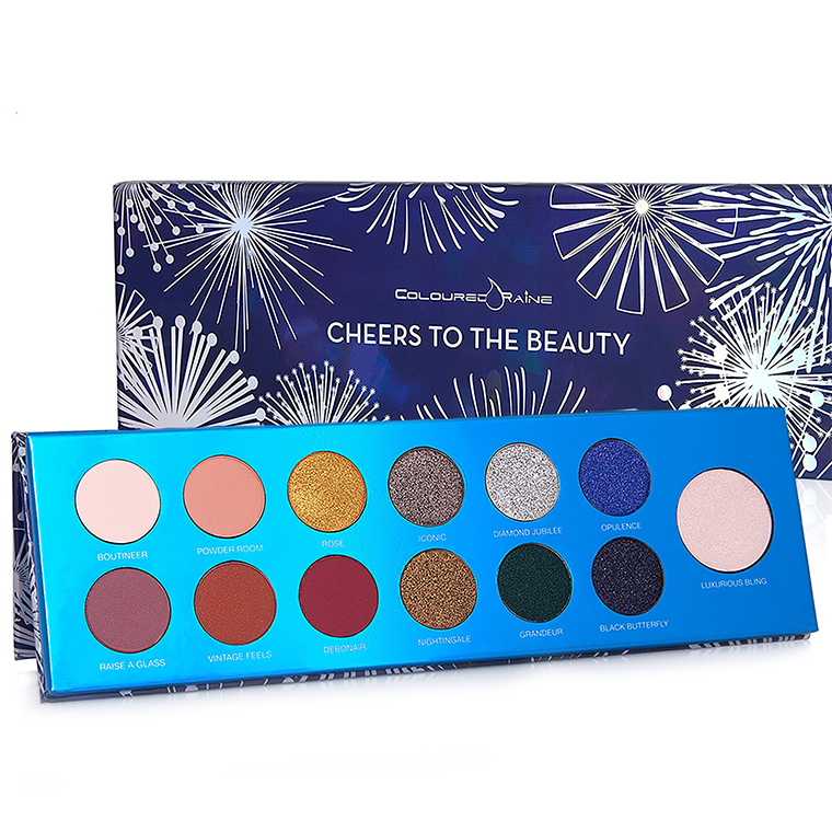 Coloured Raine Cheers to the Beauty Palette