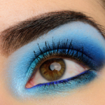 A Glowing Blue Eye | Look Details