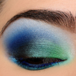 Make Up For Ever Green & Blue Look | Look Details