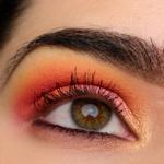 A Bright Pink & Orange Eye | Look Details