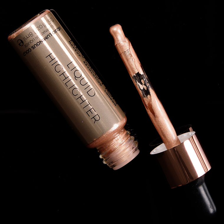 Makeup Revolution Liquid Luminous Gold Liquid Highlighter
