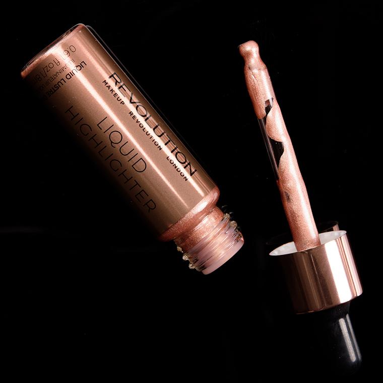 Makeup Revolution Liquid Lustre Gold Liquid Highlighter