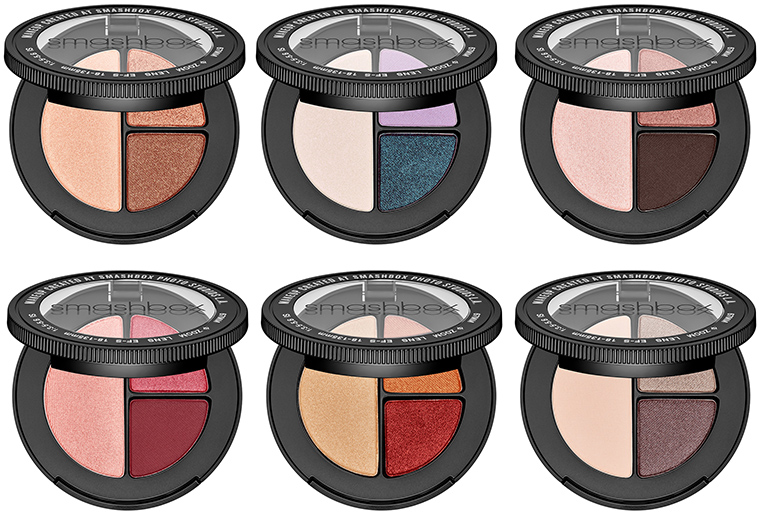 Smashbox Photo Edit Eye Shadow Trios for Spring 2018