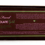Too Faced Chocolate Gold Chocolate Bar Eye Palette