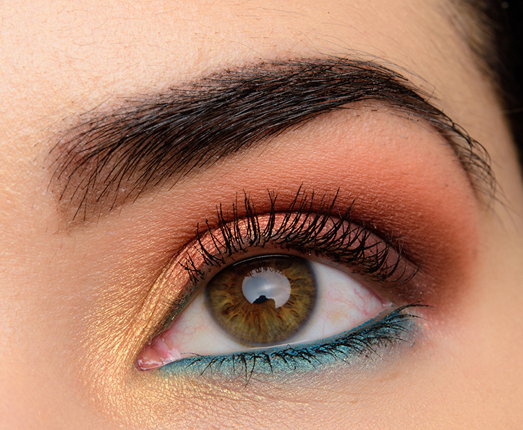 Wet N Wild Not A Basic Peach Color Icon Eyeshadow Palette Review