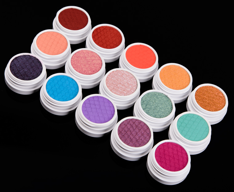 ColourPop Spring 2018 Super Shock Shadows & Pigments