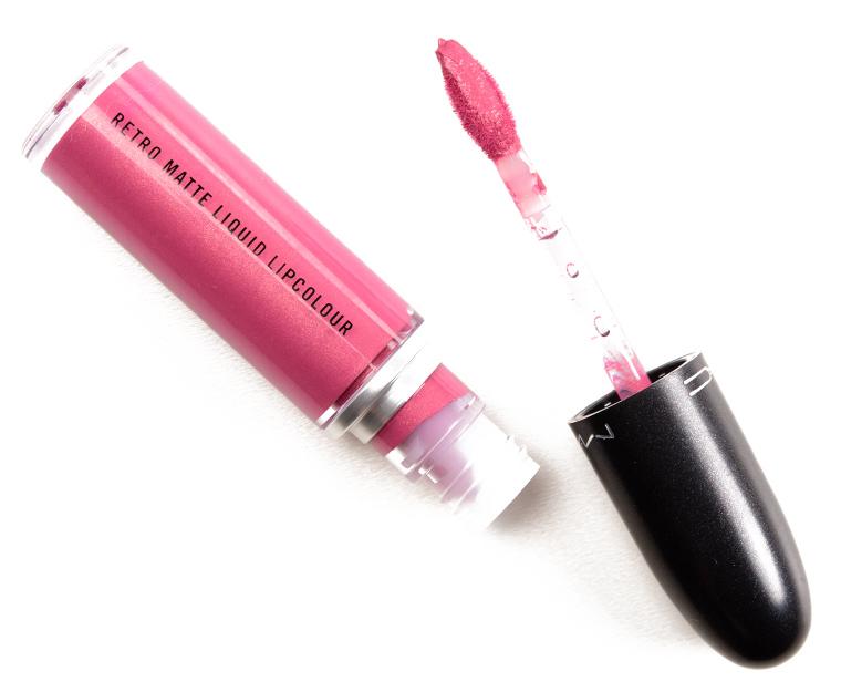 MAC Metallic Rose Retro Matte Liquid Lipcolour Metallic