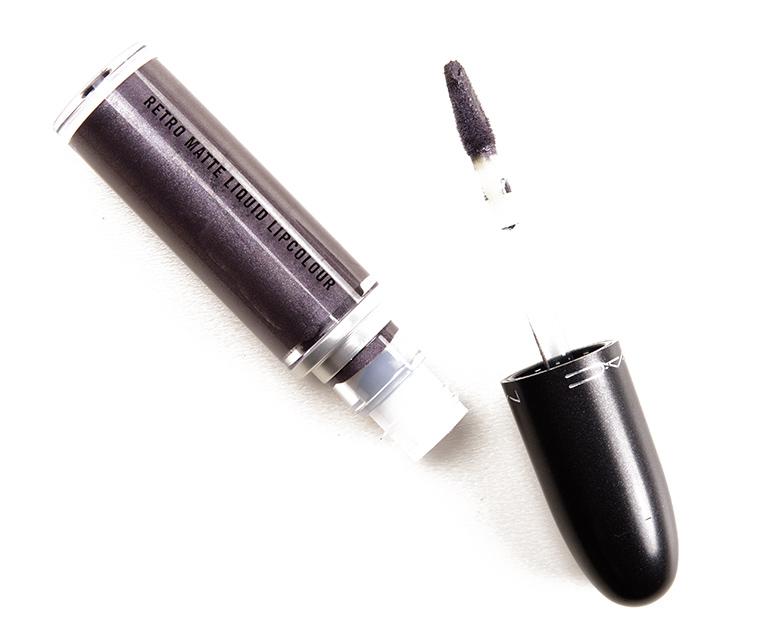 MAC Silver Spoon Retro Matte Liquid Lipcolour Metallic