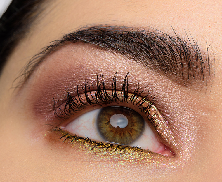 Rich Gold, Pink, Taupe Eye | Look Details