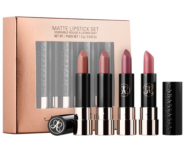 Anastasia Nude Matte Lipstick Set