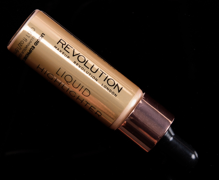 Makeup Revolution Liquid Euphoric Gold Liquid Highlighter