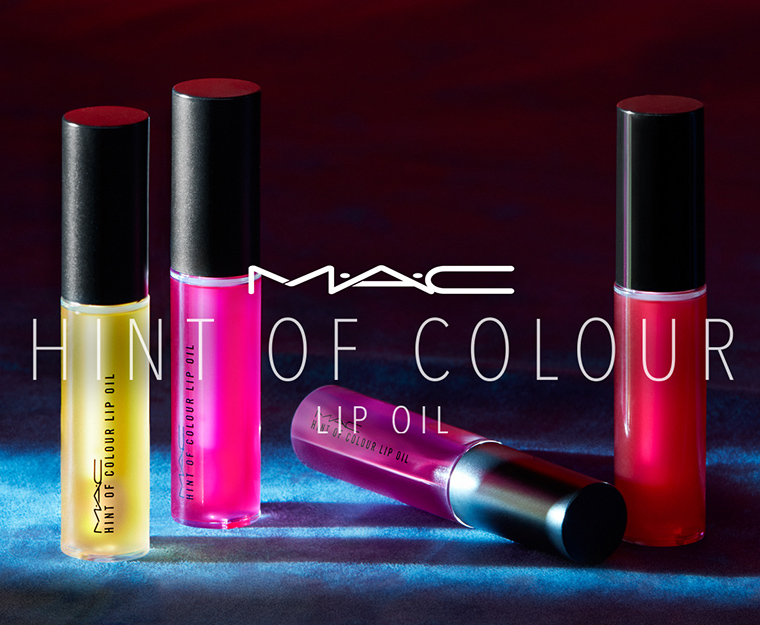 MAC Hint of Colour Lip Oils Collection