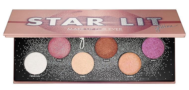 Image result for makeup forever star lit glitter palette