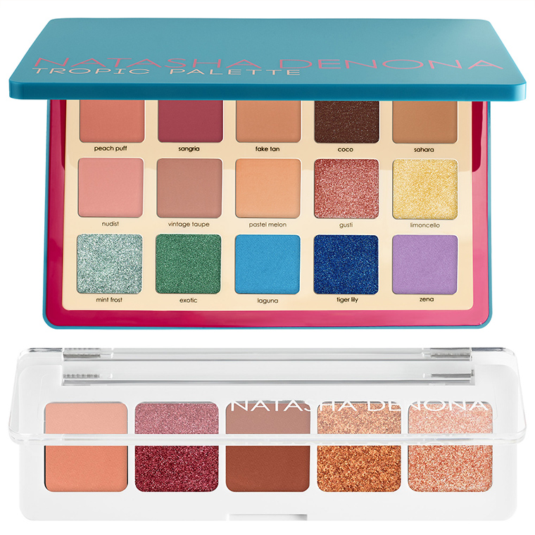 Natasha Denona Tropic Eyeshadow Palette & Sunset Mini Eyeshadow Palette