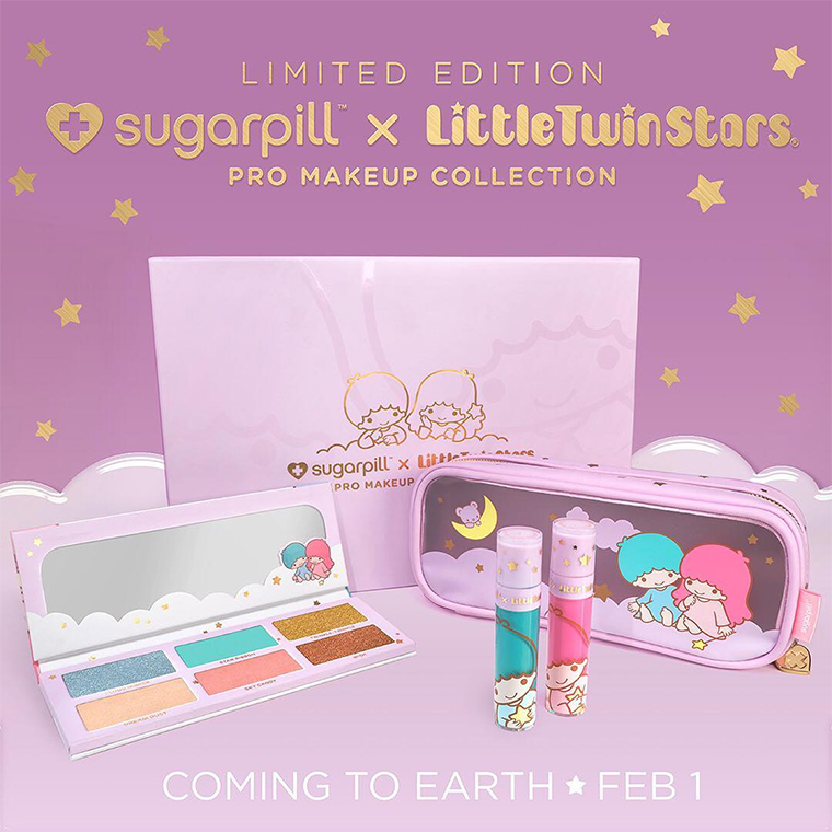 Sugarpill x LittleTwinStars Collection for Spring 2018