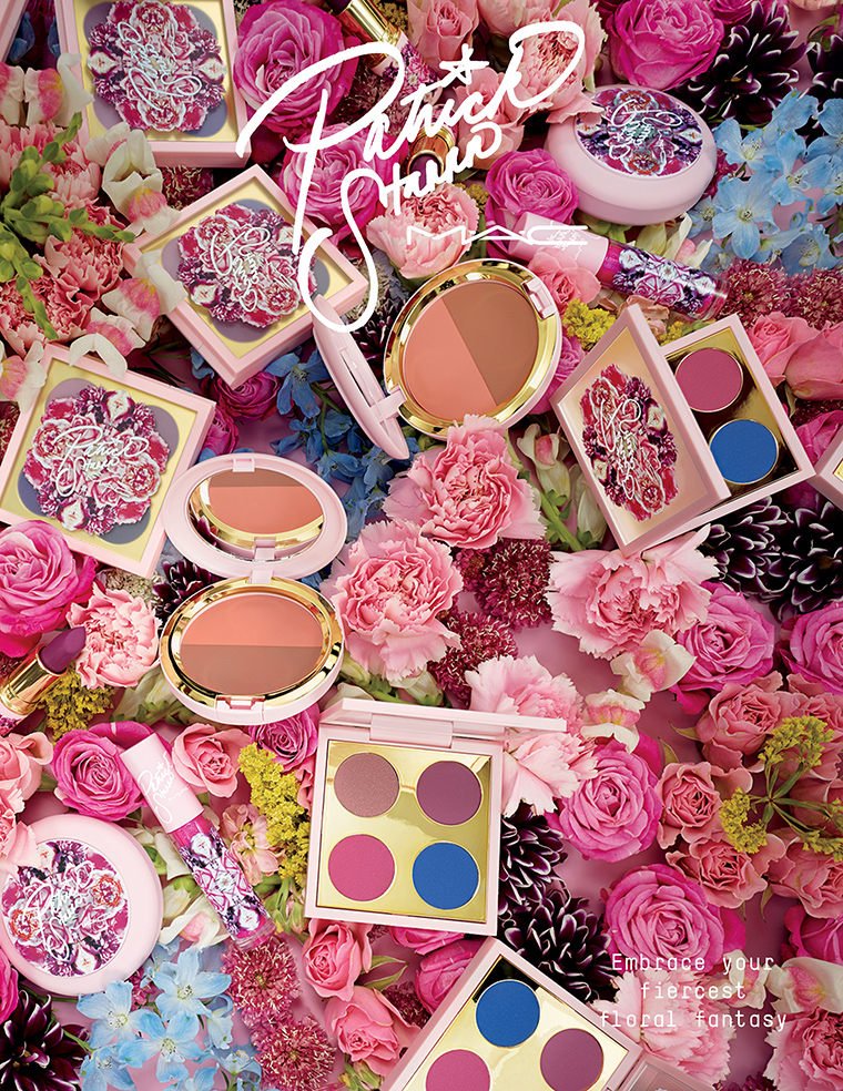 MAC x PatrickStarrr Floral Realness Collection for April 2018