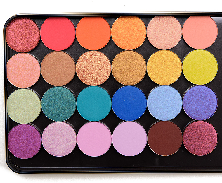 Image result for Colourpop 24 New Pressed Single Shadows $4 Each
