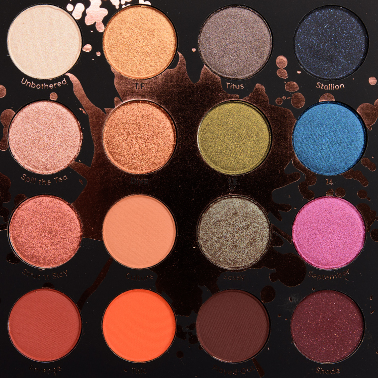 Colourpop X Shayla Perception Eyeshadow Palette Review Photos Swatches