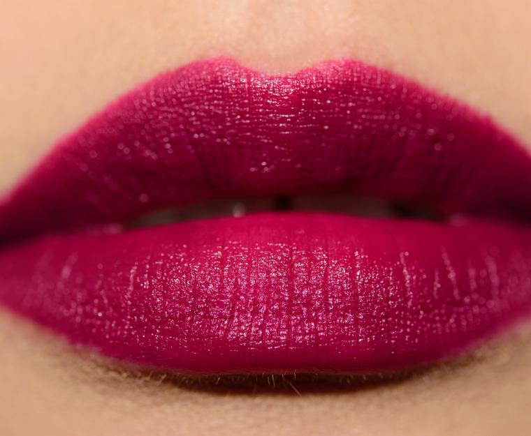 mac toung n chic 005 lipswatch - Swatches: MAC x Nicopanda Collection