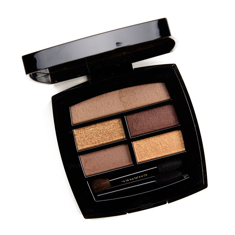 Chanel Deep Les Beiges Healthy Glow Natural Eyeshadow Palette