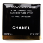 Chanel Tweed Evanescent (130) Les Tissages de Chanel Blush Duo Tweed Effect