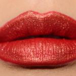 Kat Von D Gold Skool Everlasting Glimmer Veil over Santa Sangre Studded Creme Kiss Lipstick