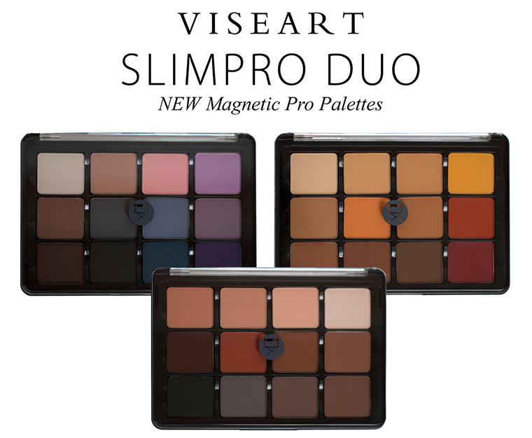Viseart SlimPro Eyeshadow Palettes