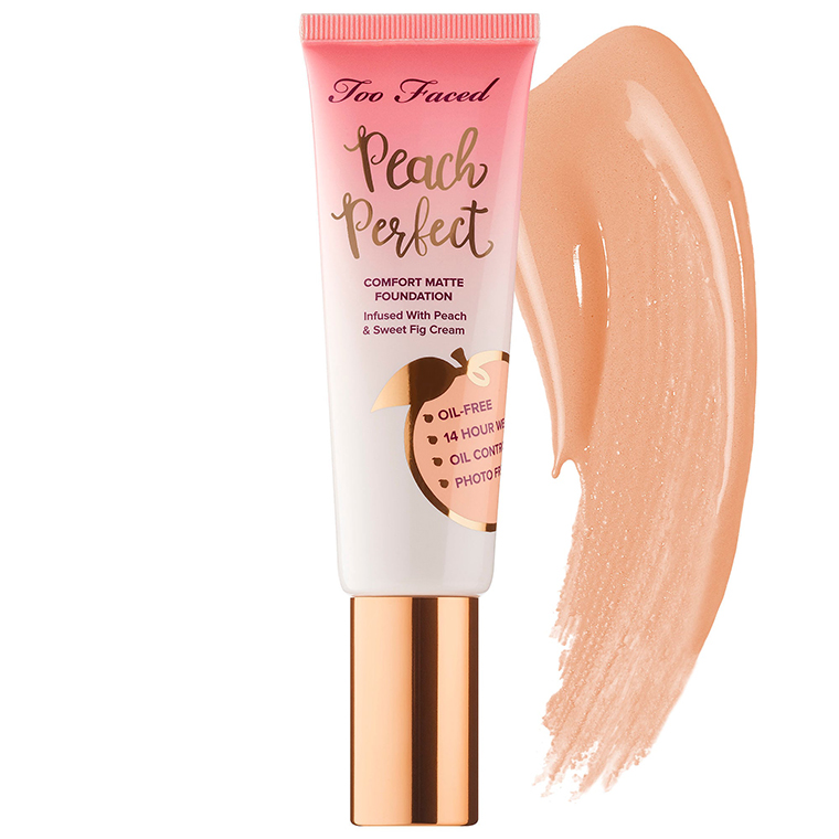 Too Faced Almond Peach Perfect Comfort Matte Foundation