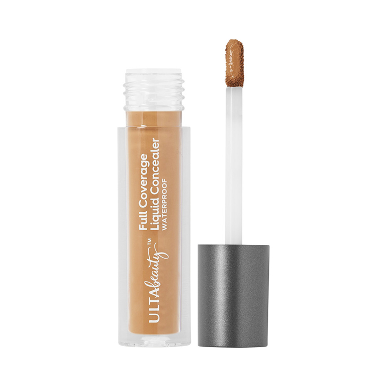Ulta Deep Warm Full Coverage Liquid Concealer Review & Swatches
