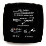 Chanel Splendeur et Audace (306) Les 4 Ombres Multi-Effect Quadra Eyeshadow