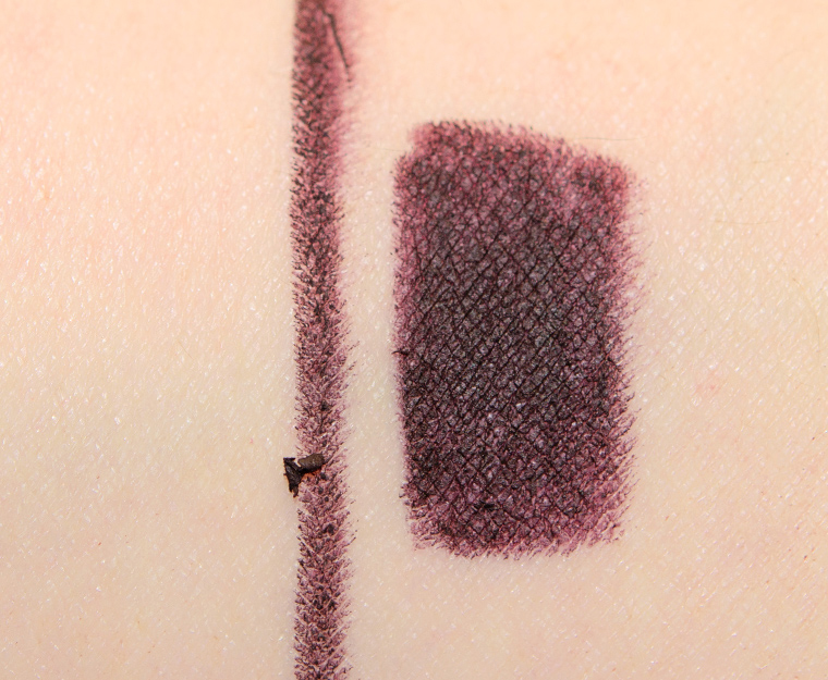 mac nevermore 003 swatch - MAC x Aaliyah Lip Pencils Reviews, Photos, Swatches