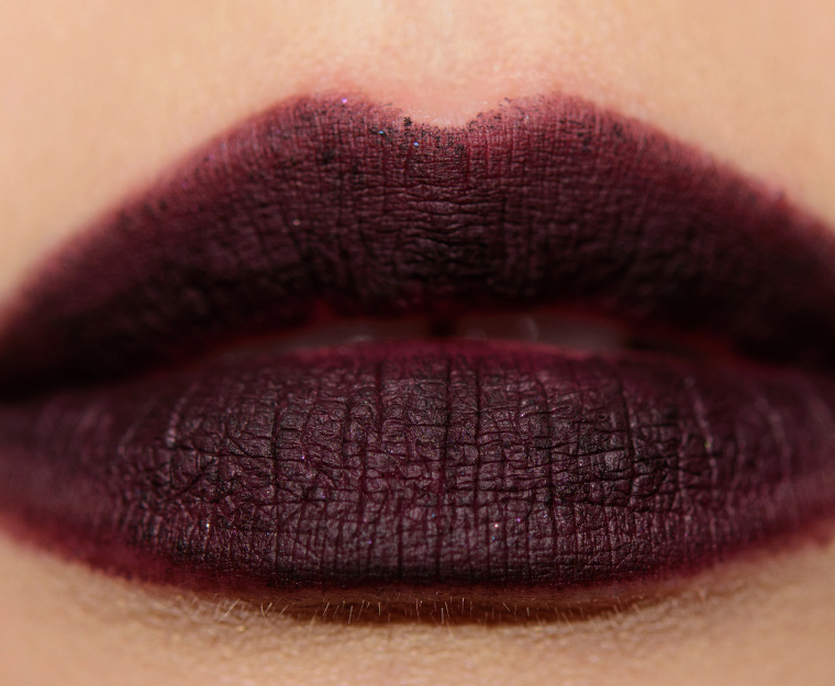 mac nevermore 004 lipswatch - MAC x Aaliyah Lip Pencils Reviews, Photos, Swatches
