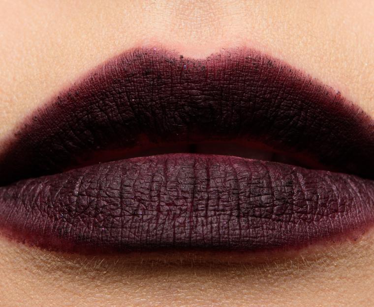 mac nevermore 005 lipswatchn - MAC x Aaliyah Lip Pencils Reviews, Photos, Swatches