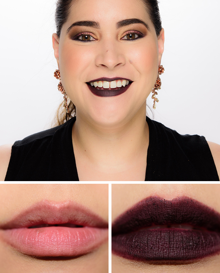 mac nevermore 006 lipcomp - MAC x Aaliyah Lip Pencils Reviews, Photos, Swatches