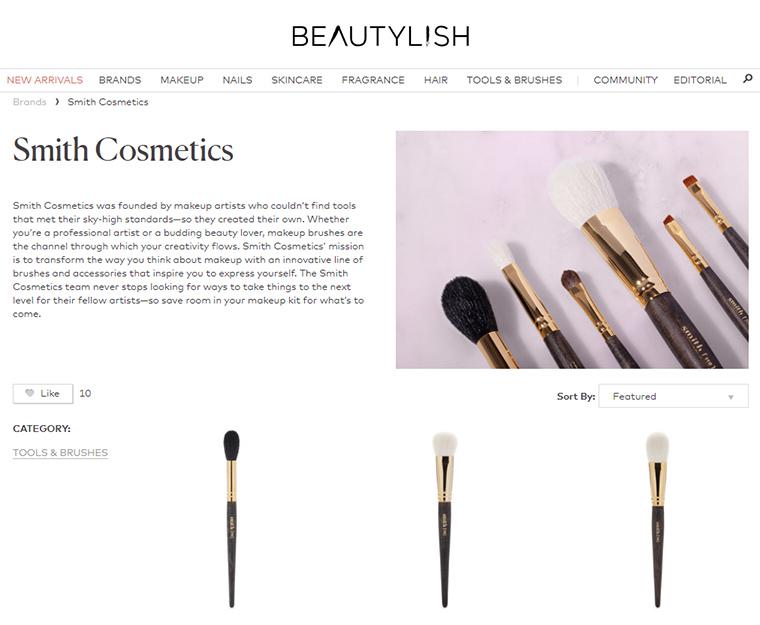 Smith Cosmetics Now at Beautylish