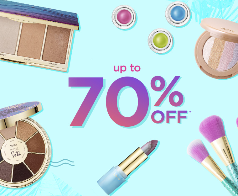Tarte's Summer Sale, Up to 70% Off!