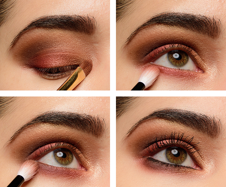 Warm Smokey Eye Makeup Tutorial